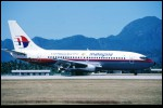 photo of Boeing 737-2H6 9M-MBM