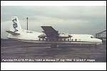 photo of Fairchild FH-227B PP-BUJ