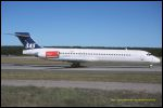 photo of McDonnell Douglas MD-87 SE-DMA
