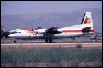 photo of Fokker 50 PH-FZE