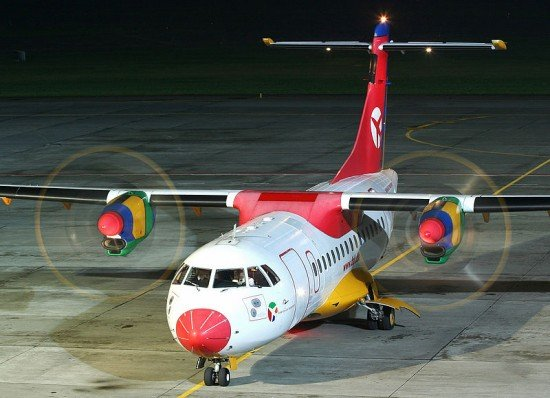 File photo of a Danish Air Transport ATR-42 (photo Radoslaw Idaszak, CC)