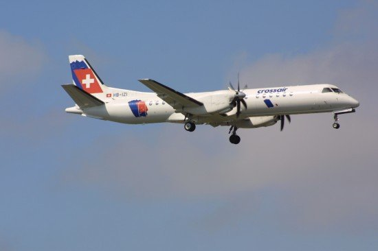 File photo of a SAAB 2000 (photo: ASN)