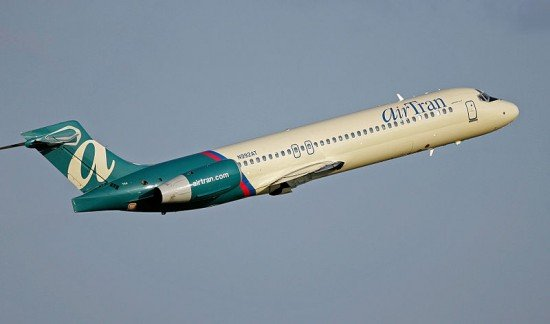 File photo of an AirTran Boeing 717 (Photo: Anthony92931 / CC-sa)