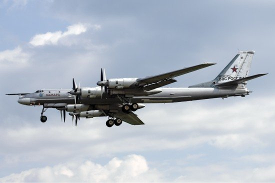 Russian Air Force Tupolev Tu-95 (Photo: Maxim Maksimov / CC:by-sa)