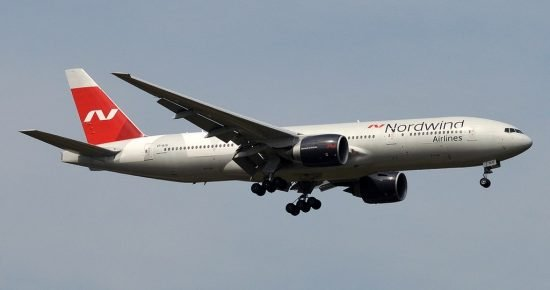 File photo of Nordwind Boeing 777-200ER (Anna Zvereva / CC:by-sa)