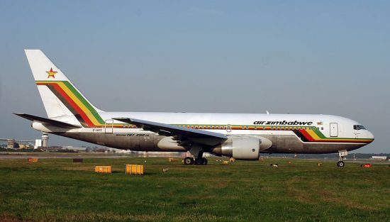 Air Zimbabwe B767-200 (photo: Allen Watkin; CC:by-sa)