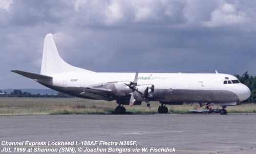 ASN Aircraft accident Lockheed L-188AF Electra N285F Shannon Airport