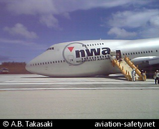 ASN Aircraft accident Boeing 747-251B N627US Guam-A B  Won