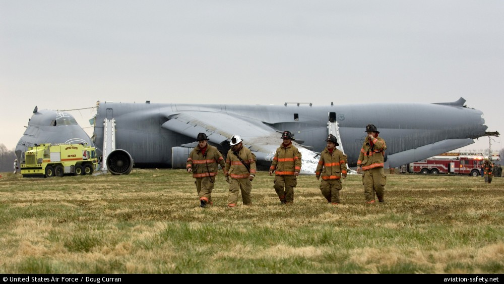 ASN Aircraft accident Lockheed C5B Galaxy 840059 Dover