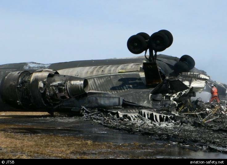 ASN Aircraft accident McDonnell Douglas MD-11F N526FE Tokyo