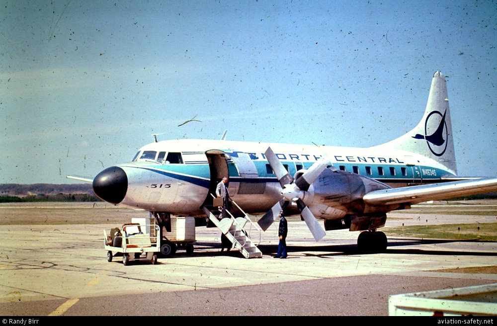 asn aircraft accident convair cv
