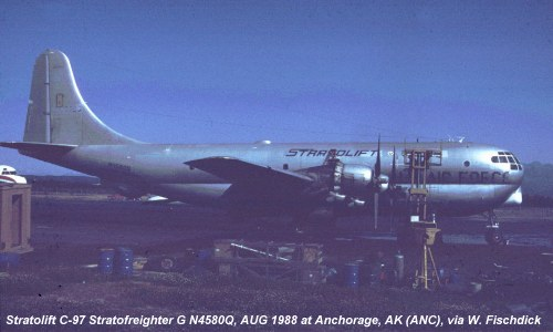 ASN Aircraft Accident Boeing C-97L Stratofreighter N4580Q