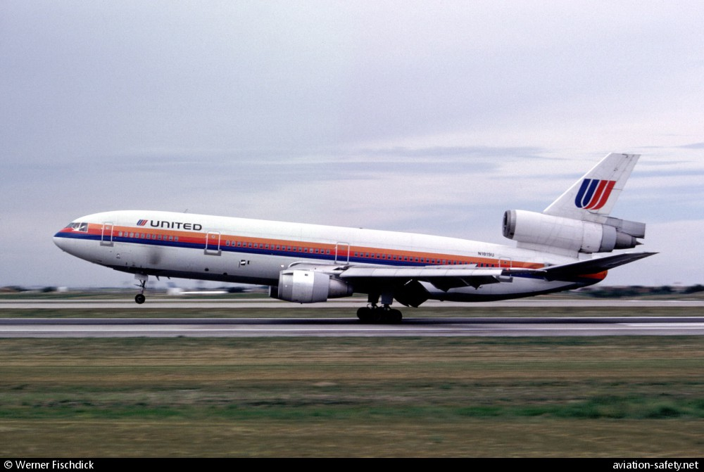 asn aircraft accident mcdonnell douglas dc 10 10 n1819u sioux rh aviation safety net 100 Hour Aircraft Maintenance Logbook Entry Aircraft Maintenance Engineer