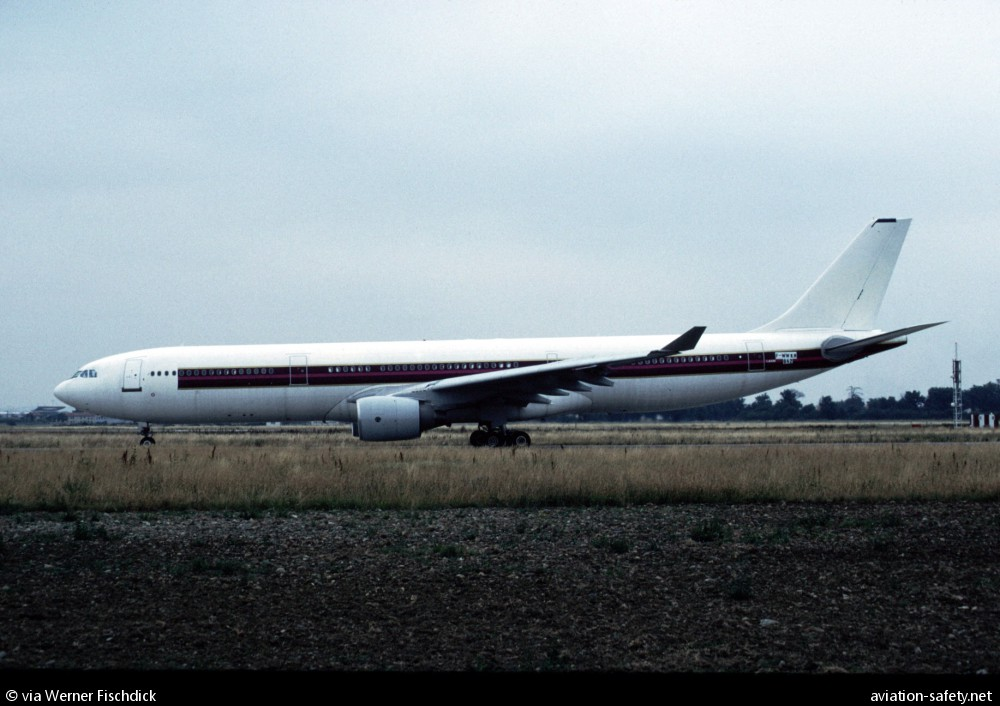 ASN Aircraft accident Airbus A330-321 F-WWKH Toulouse-Blagnac