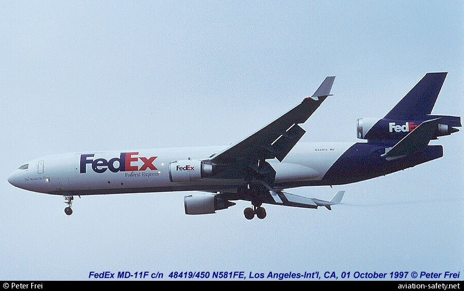 Asn Aircraft Accident Mcdonnell Douglas Md 11f N581fe Subic Bay