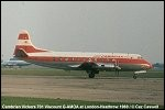 photo of Vickers-701-Viscount-G-AMOA
