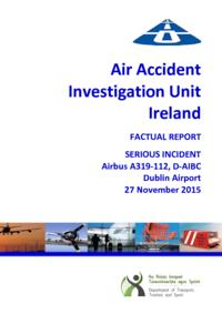 Serious incident Airbus A319-112 D-AIBC, 27 Nov 2015